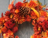 Colors of Autumn Wreath on Sale Now by Silk N Lights
