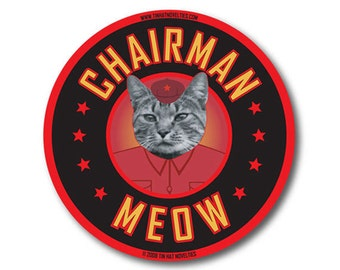 Chairman Meow Sticker