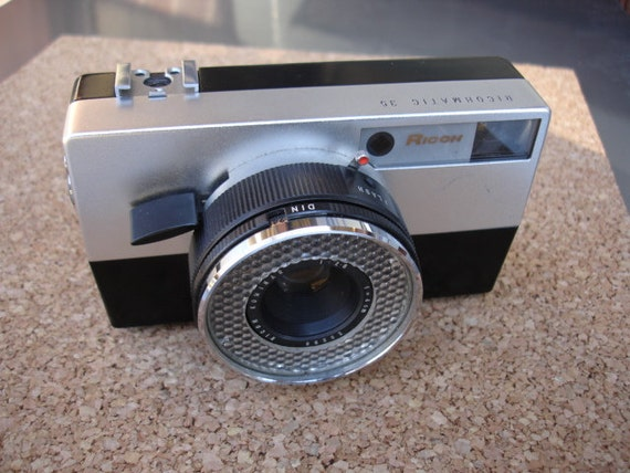 Vintage Ricoh Ricomatic 35 Camera- If your looking for vintage cameras check us out.