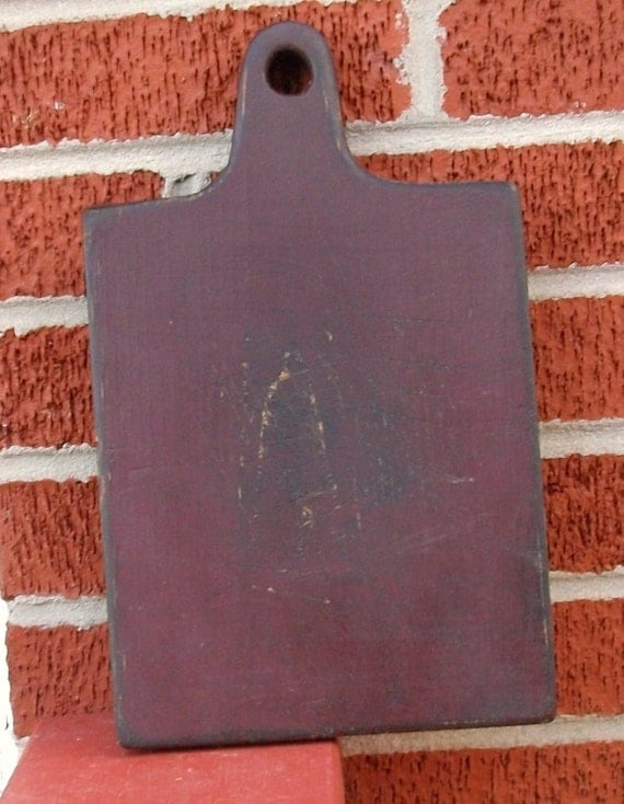Primitive Cutting Board - Farmhouse Kitchen Decor - Hand Crafted Wood