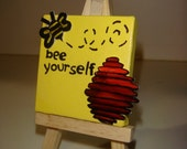 Mini Inspirational Canvas