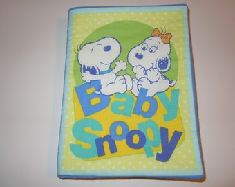 Baby Snoopy Cloth Book - FREE SHIPPING