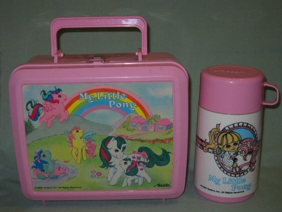 1986 My Little Pony Lunchbox and Thermos