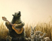 Musician Series - Bear Print