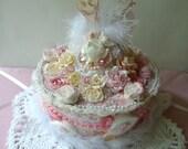 Marie Antoinette French Shabby Chic Cake