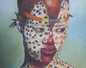 African Portraits, giclees  on canvas,limited Edition, hand signed