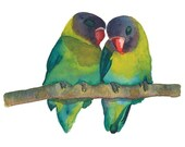 PRINT - All You Need is Love(birds)