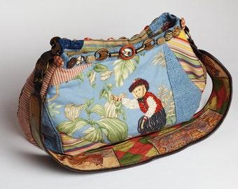 Medium  Monkey on your back Hobo bag