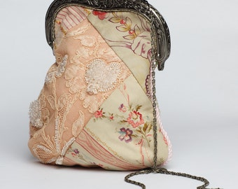 All lace Victorian inspired purse, the perfect gift for any occasion.