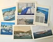 Notecard set showcasing Maine coastal scenery