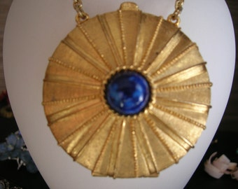 Estee Lauder Perfume Compact Necklace