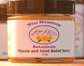 Muscle and Joint Relief Salve- 2 oz. jar
