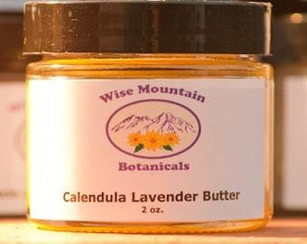 Calendula Lavender Butter 2 oz. jar