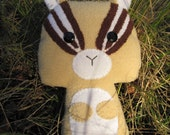 Eco-friendly, Upcycle, Chipmunk, Stuffed Animal Plush Toy