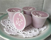 Oh Soy Raspberry Cream Cake - Scented Wax Tart melts - OhSoySweets Signature Blend of Raspberry, White Chocolate and Cake