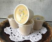 Hippie Cake -Scented Wax tarts melts - Patchouli, Nag Champa, Orange Cream Cake