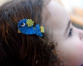 Whale Hair Clip - Meet the Adorable Miss Whitley