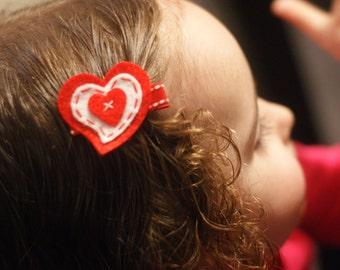 Adorable Heart Hair Clip - Meet Heartie