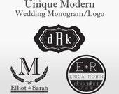 Modern Wedding Monogram/Logo - Custom