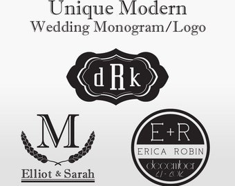 Modern Wedding Monogram/Logo - Custom