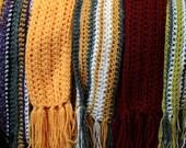 Fashionable Crochet Scarves