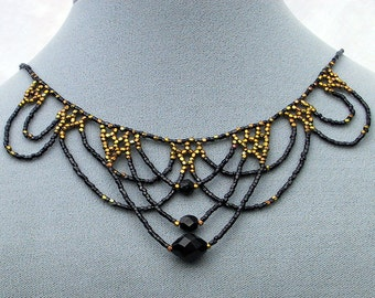 PDF File Tutorial for Lace Beadwoven Necklace (Style A)