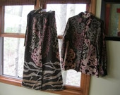 Vintage Maxi skirt, blouse and sash, Lanvin Paris.NewYork