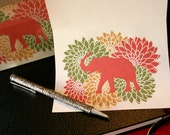 On Sale - Elephant Writing Paper - On Sale Clearance Price