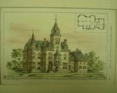 House of William Matthews, New York, NY, 1878