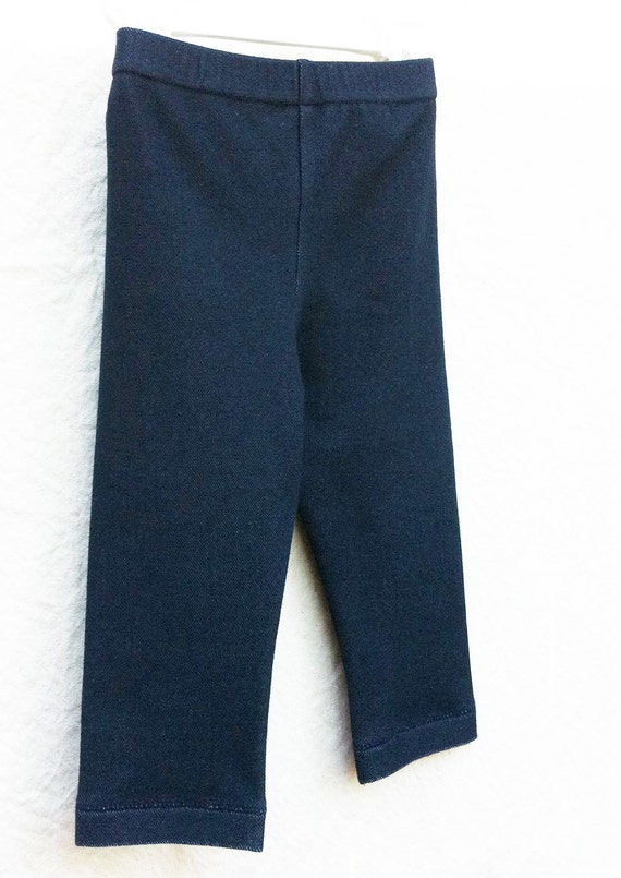Cyber Monday SALE Baby Boutique Leggings Stretch Denim Size 18 Month Jeggings Ready to Ship Fall Clothing
