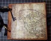 Travel, Vacation Paper Bag Album