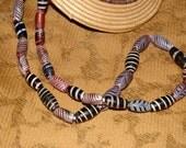 Vintage Venetian Feather Beads