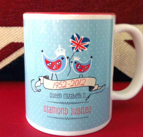 The Queen's Diamond Jubilee Mugs Limited Edition 2012
