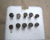 10 Old Railroad Date Nails From The 30's-40's