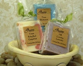 Texas Trio of Luxury Handcrafted Soaps