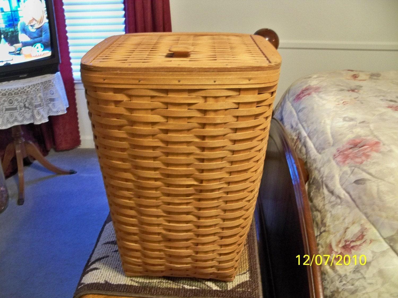 Reserved Longaberger 1987 Laundry Hamper Basket