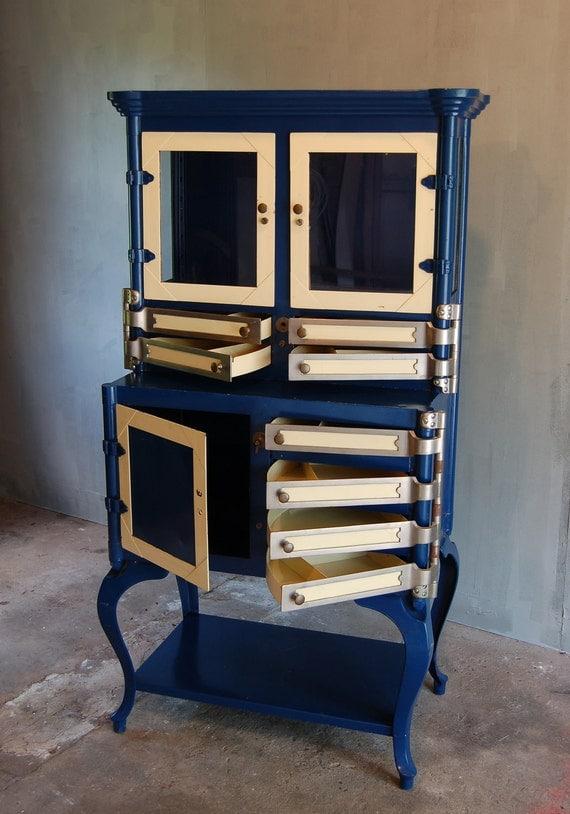 - Vintage Dental Cabinet.