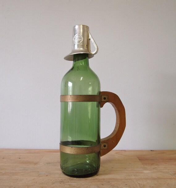 SALE / / / Vintage Wine Whiskey Bottle