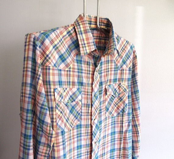 Sears Roebuck Large Western Shirt