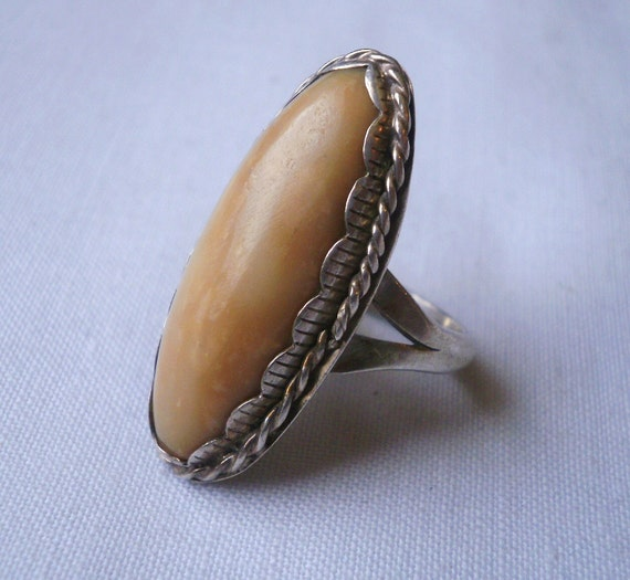 Vintage Southwest Sterling Silver Ring