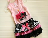 Cupcake Outfit (Outfit includes Shirt, Bloomers or Skirt)