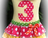Circus Tank with  4-Tier Skirt Combo Available in 6-12  months through 6/8