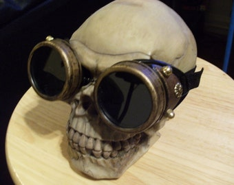Made to Order Steampunk Goggles