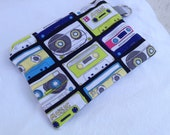 Cassette Tape Mix Tape Zippered Pouch