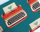 Love Letter Typewriter iPad or Tablet Case, Windows Surface Tablet, Nook HD +