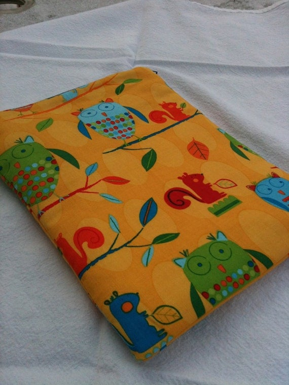 Owls & Squirrels eReader Case - Kindle Fire, Kindle Keyboard, Nook Color