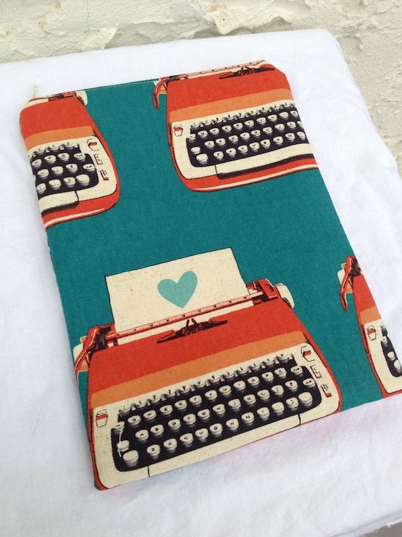 Love Letter Typewriter eReader or iPad Mini Case - Fits Nooks & Kindles, Zipper Closure