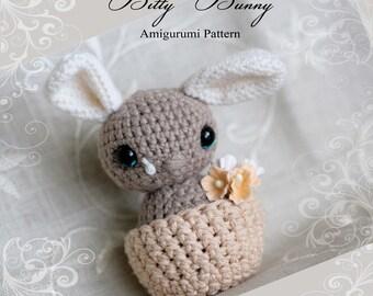 Bitty Bunny PDF pattern