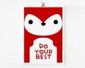 Children Decor Good Manners 5 x 7 Flash Cards, Kids Wall Art set of 15