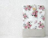 13 / 15 inch Laptop Sleeve Macbook Pro shabby chic roses romantic